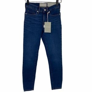 Everlane Mid-Rise Skinny Jeans size 23 Ankle NWT
